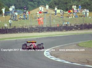 LIFE W12 F1 Bruno Giacomelli British GP pre qualifying photo (B)